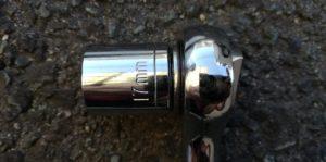 ソケットレンチ17mm