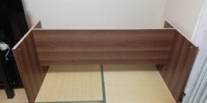 ロウヤデスク側板と背板