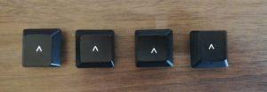 4つの矢印キー