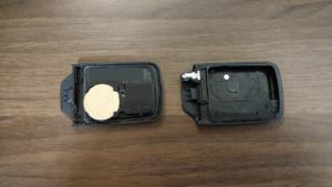 新しい電池に交換