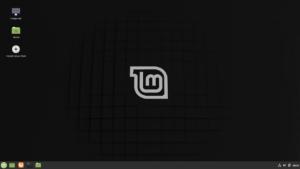 Install Linux Mintをダブルクリックしてインストール開始