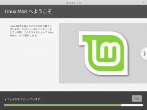 LinuxMintインストール08_システムのインストール