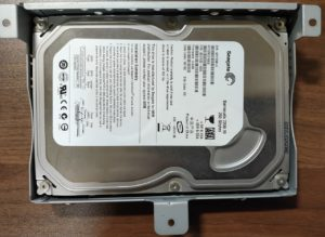 HDDをWD製からSeagate製へ交換