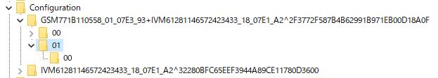 DisplayPort問題解決_Configurationからゴミを削除