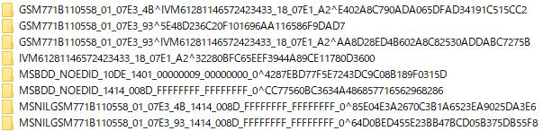 DisplayPort問題解決_Configurationゴミ削除前