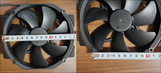 NH-D15 chromax.black_ファンサイズ計測