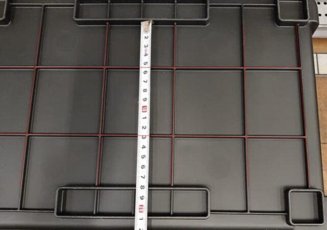 JEJアステージ シャット500の底面_接着のためにシリコーン塗る位置
