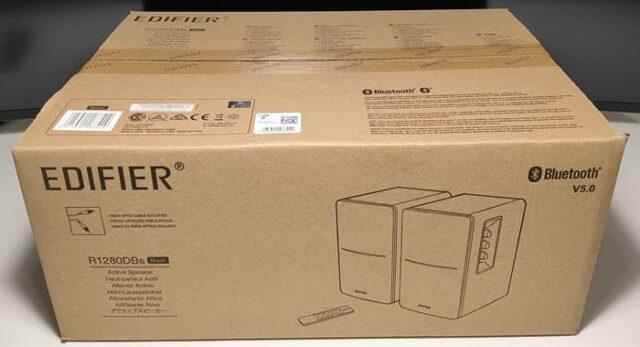 Edifier R1280DBsレビュー_外箱