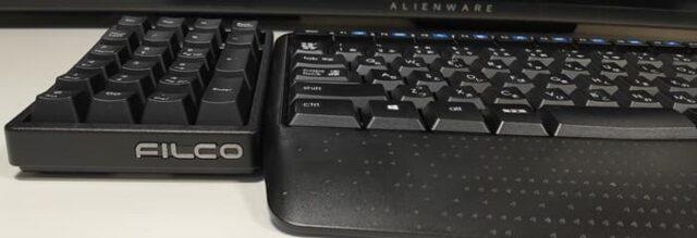 メインキーボードとテンキーのタイプ(種類)は合わせよう_メンブレンキーボードとメカニカルテンキー